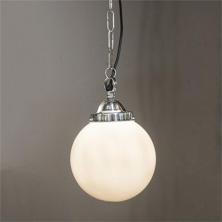 Celeste Glass Ball Shade Pendant Light, Small