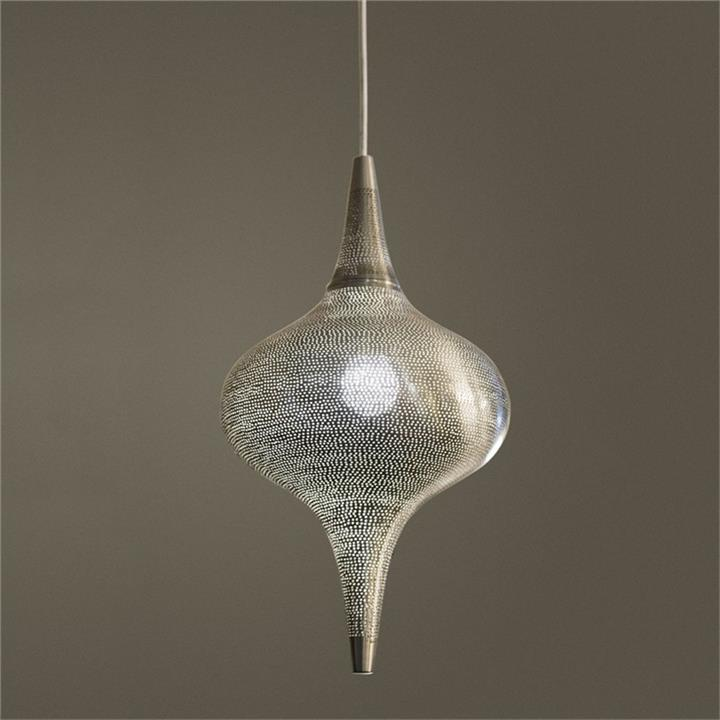 Zara Metal Pendant Light, Medium