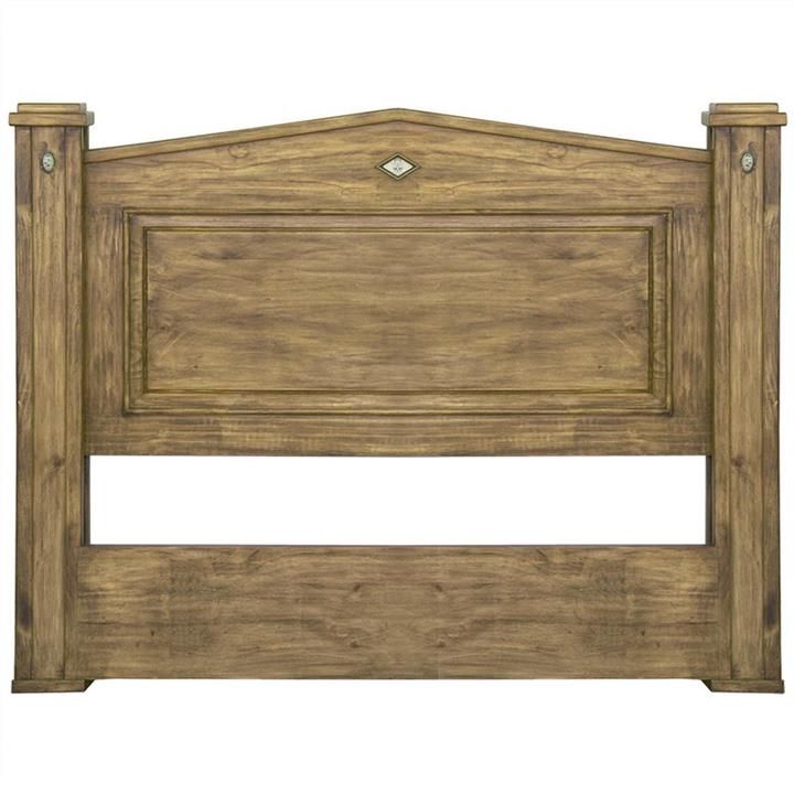 Suffolk Solid Pine Timber Bed Head, Queen