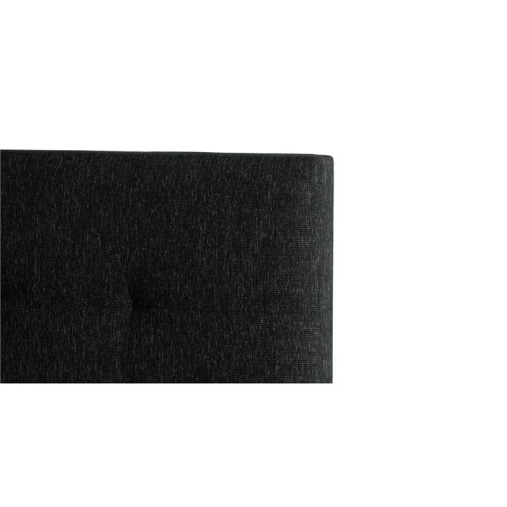 Andy's Fabric Headboard, Double, Charcoal