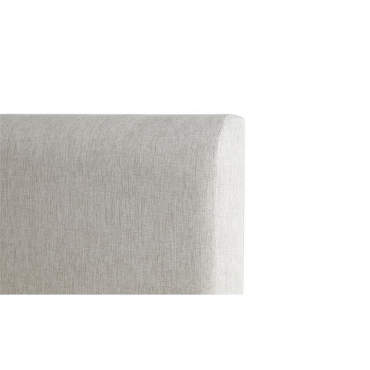 George's Fabric Headboard, King, Sand