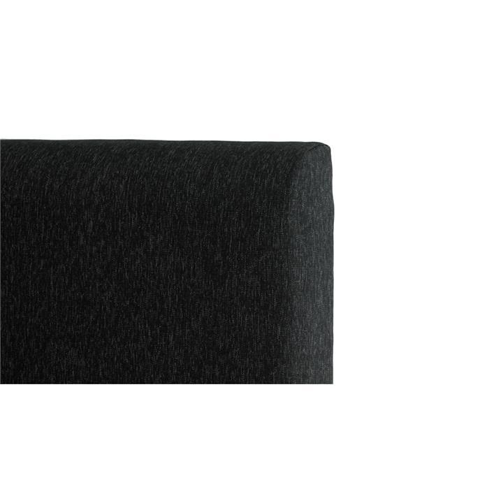 George's Fabric Headboard, Queen, Charcoal