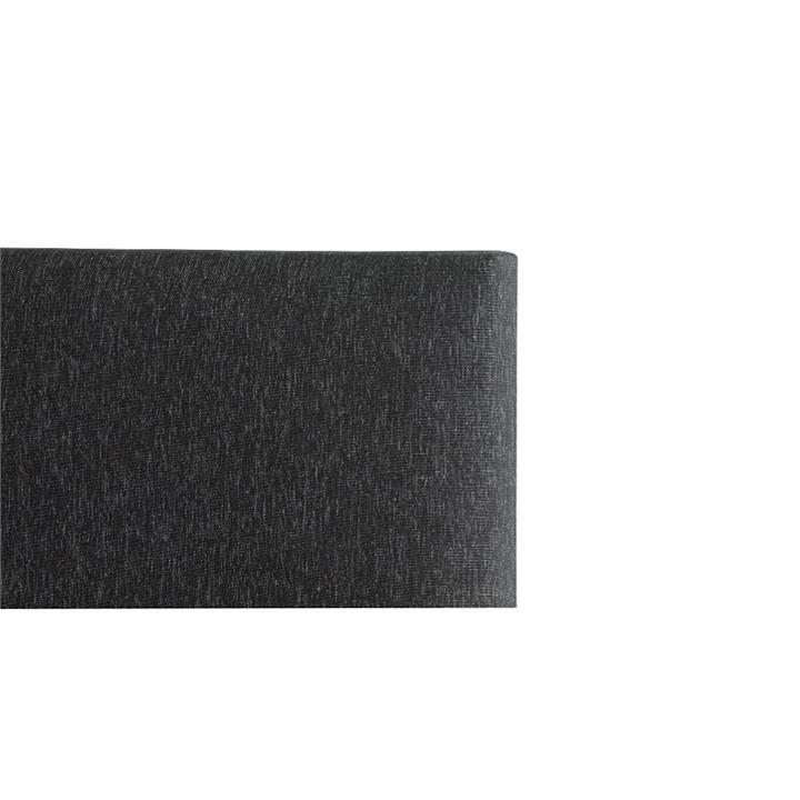 Tom's Fabric Headboard, Queen, Charcoal