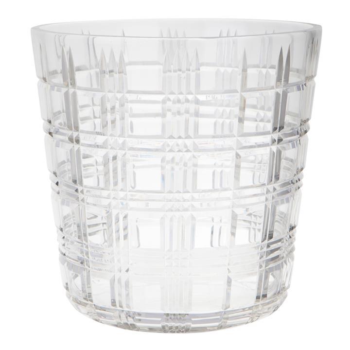 Park Avenue Cut Glass Ice Bucket