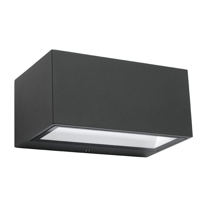 Cluny IP65 Outdoor Up/Down Wall Light, Black