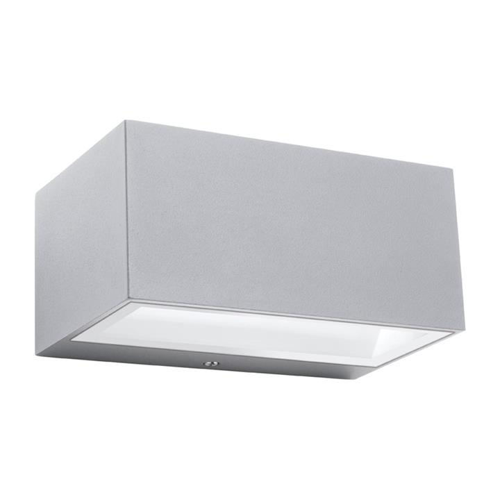 Cluny IP65 Outdoor Up/Down Wall Light, Silver