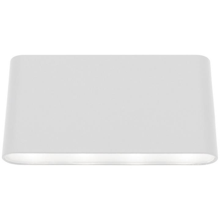 Sasha IP54 LED Indoor/Outdoor Up/Down Wall Light, White