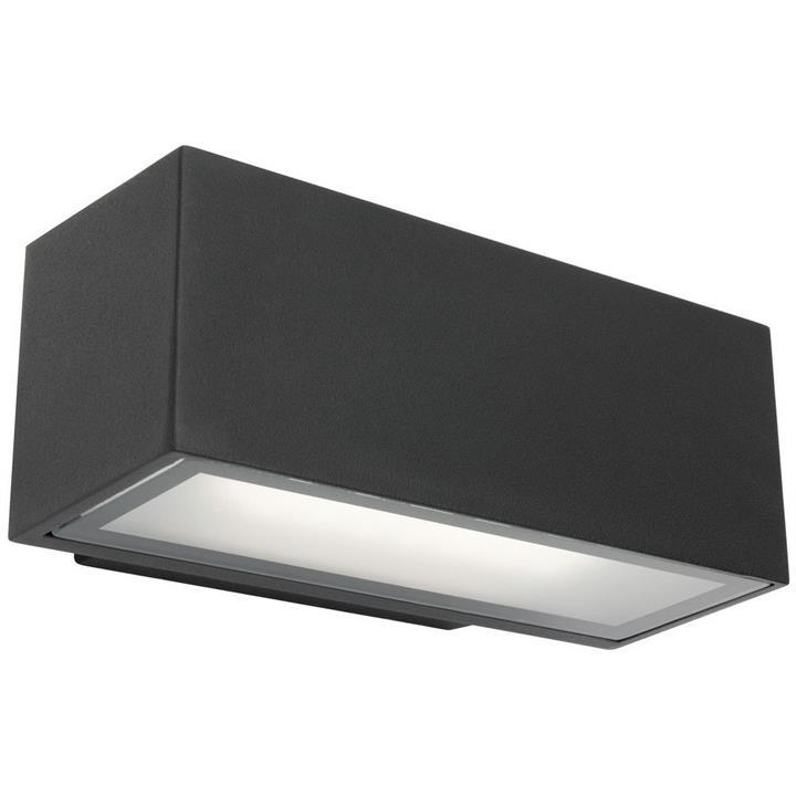 Cluny IP65 LED Outdoor Wall Light, Black