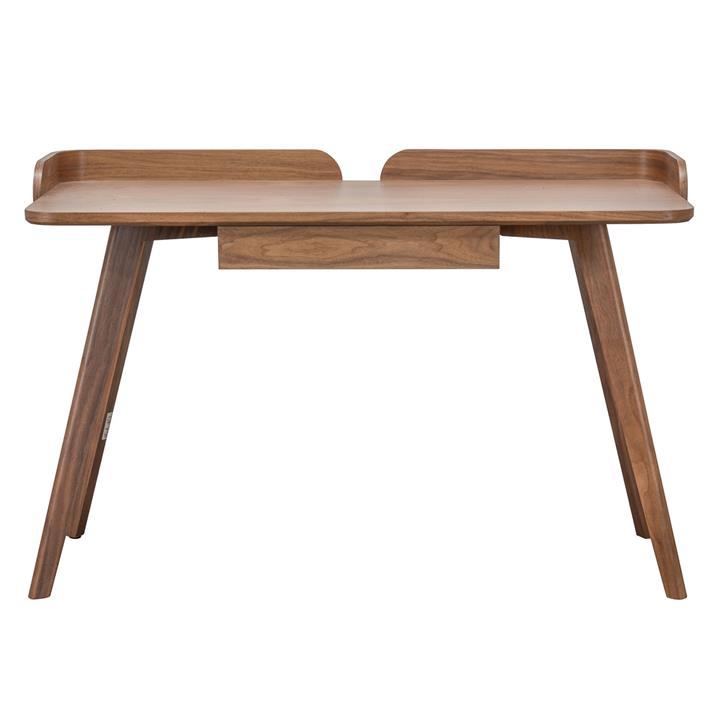Seta Wooden Writing Desk, 125cm, Walnut