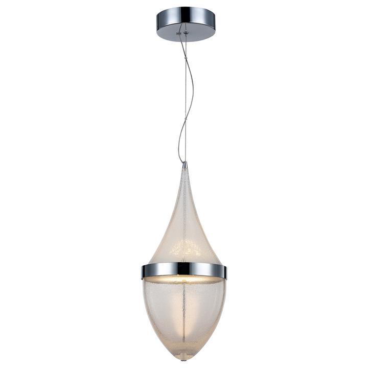 Rico Micro Bubble Glass LED Pendant Light, Large