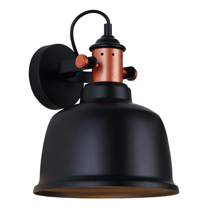 Alta Iron Wall Light, Matt Black