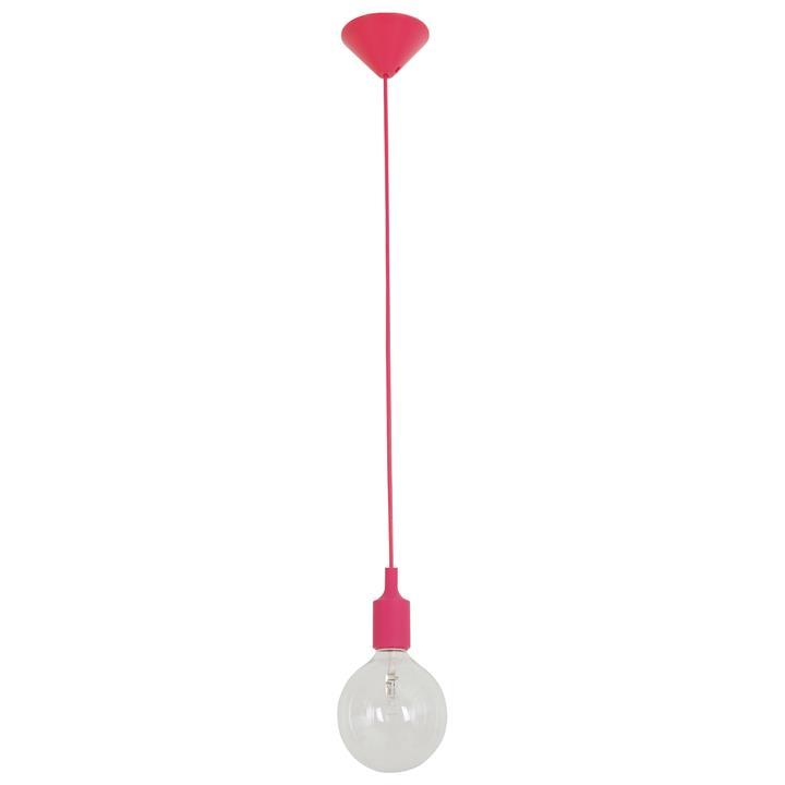 Penrith Silicone Pendant Suspension, Pink