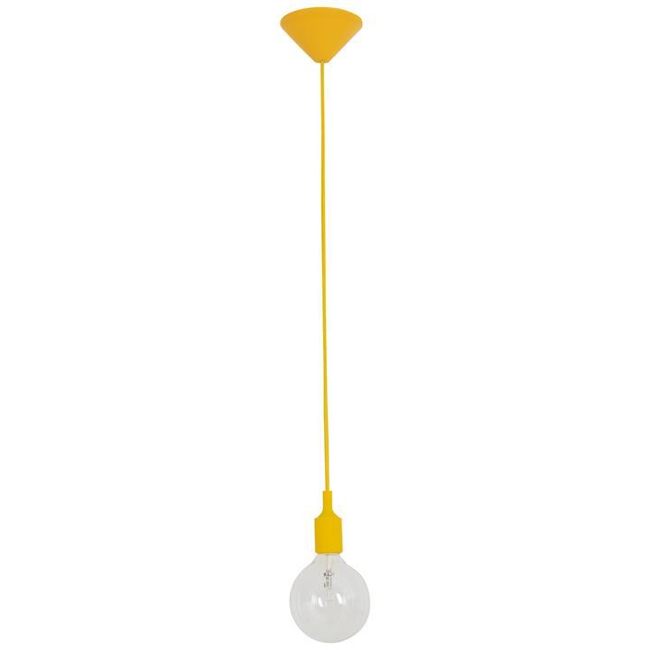 Penrith Silicone Pendant Suspension, Yellow