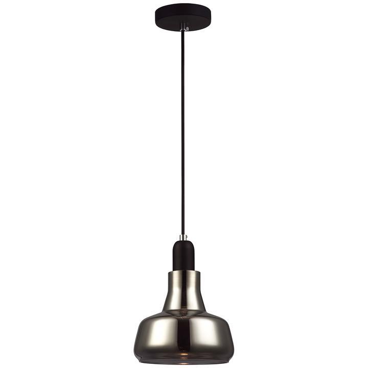 Barrosa Glass Pendant Light, Squat
