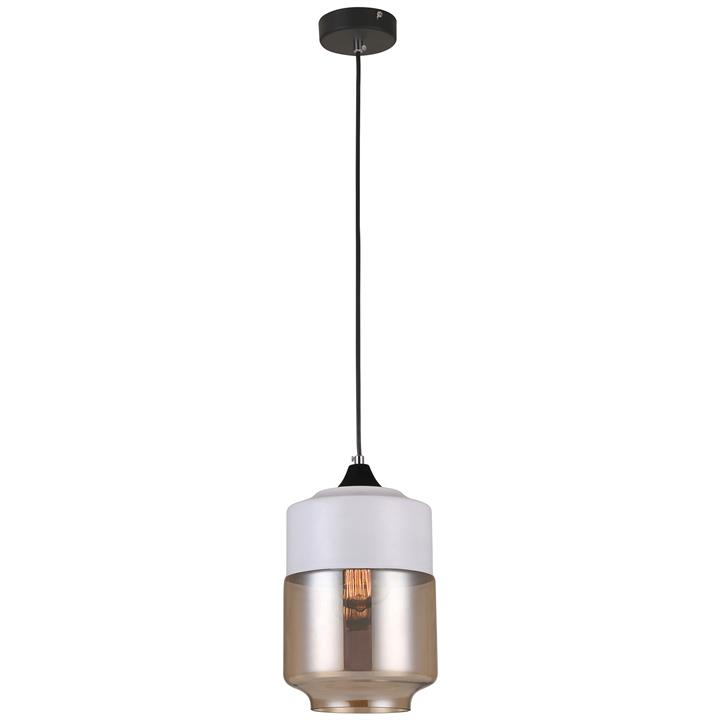 Casa Glass Pendant Light, Jar