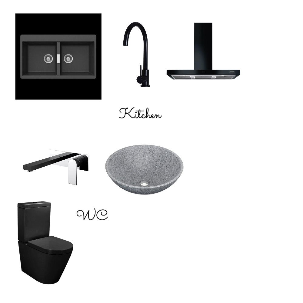 Kitchen & WC Interior Design Mood Board by BlueButterfly on Style Sourcebook