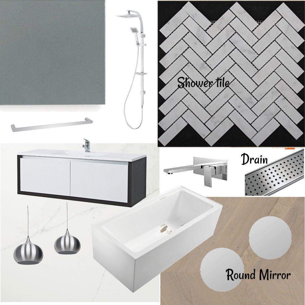 Gundry Master bath Interior Design Mood Board by amccarroll on Style Sourcebook
