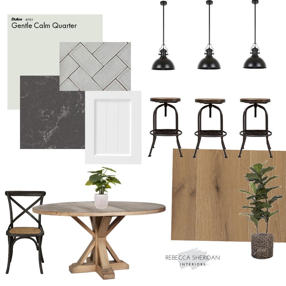 farmhouse kitchen dining Interior Design Mood Board by Rebecca Sheridan Interiors on Style Sourcebook