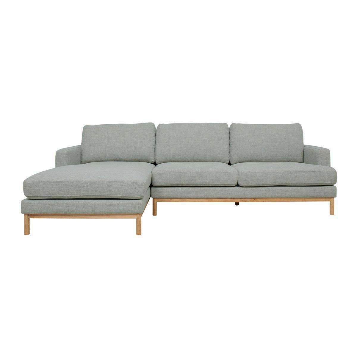Atticus 2.5 Seater + LHF Chaise in Bristol Seafoam by OzDesignFurniture, a Sofas for sale on Style Sourcebook