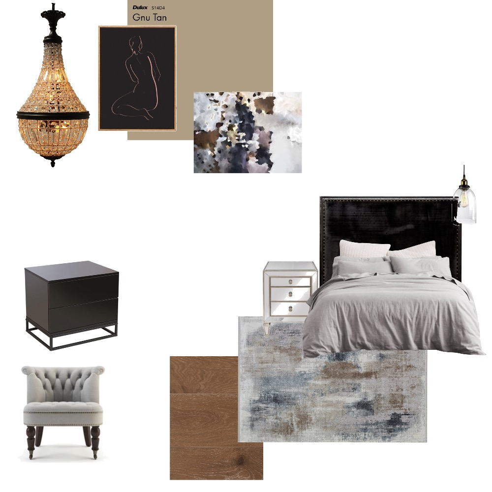 r. bedroom Interior Design Mood Board by rudimoser on Style Sourcebook