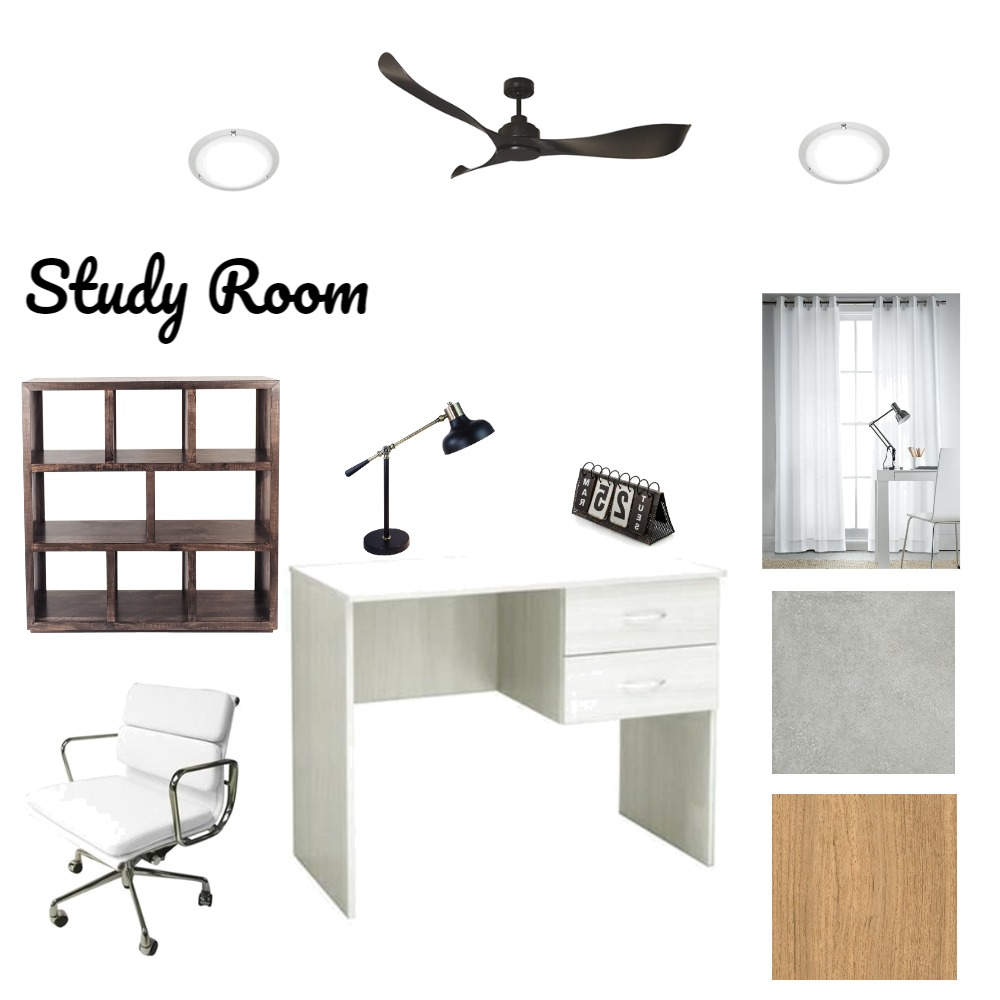 study room Interior Design Mood Board by thamziwei on Style Sourcebook