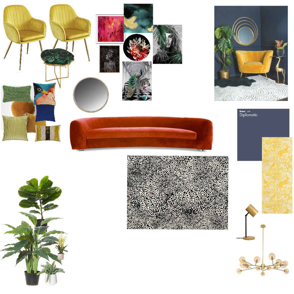 Eclectic Interior Design Mood Board by acamp1234 on Style Sourcebook