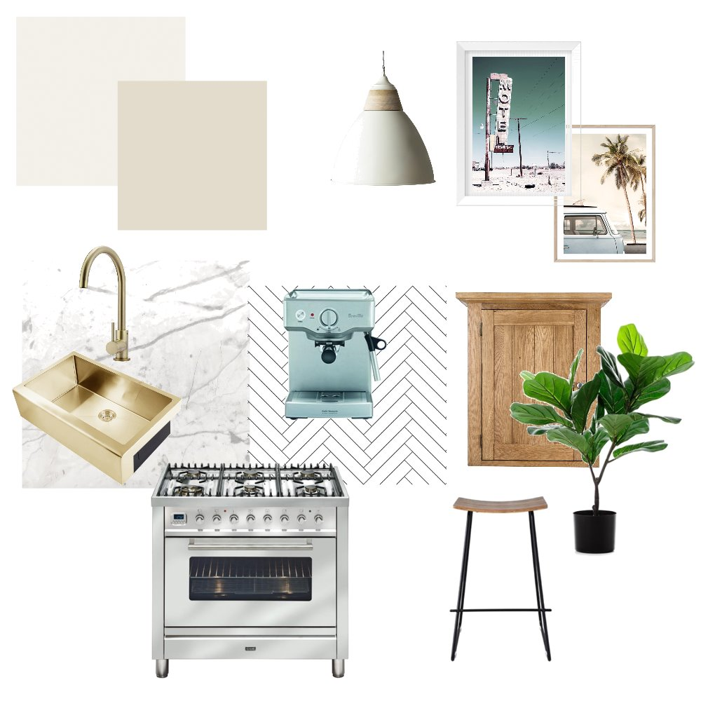 kitchen mid century Interior Design Mood Board by Stylingbydee_ on Style Sourcebook