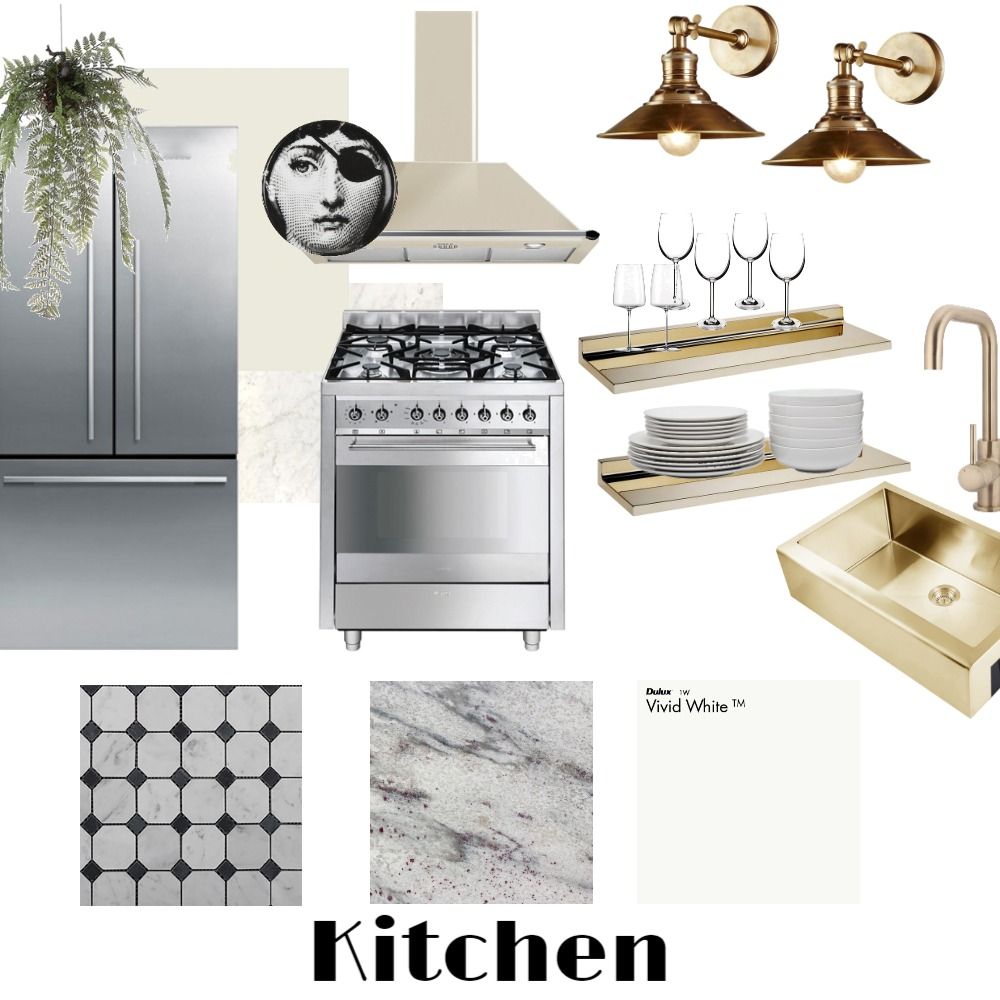 kitchen Interior Design Mood Board by KB design on Style Sourcebook