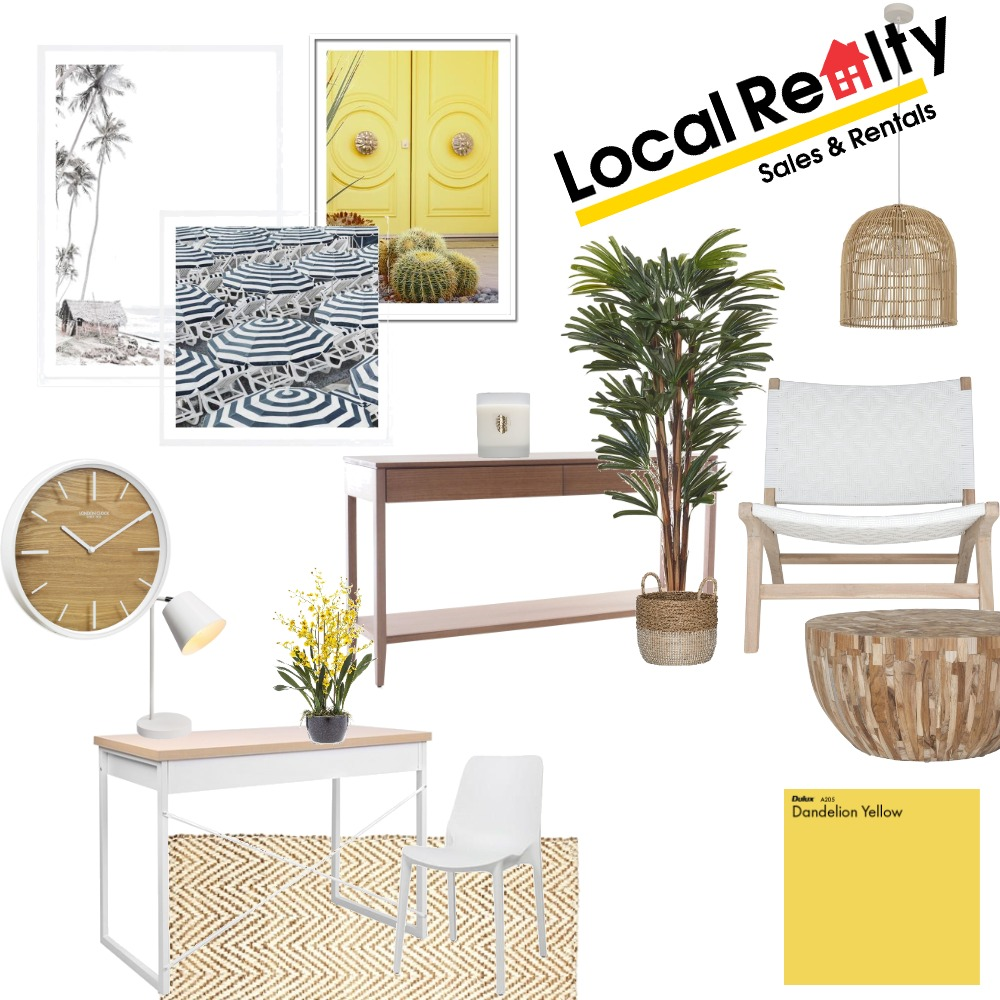 Local Realty office 1 Interior Design Mood Board by Simplestyling on Style Sourcebook