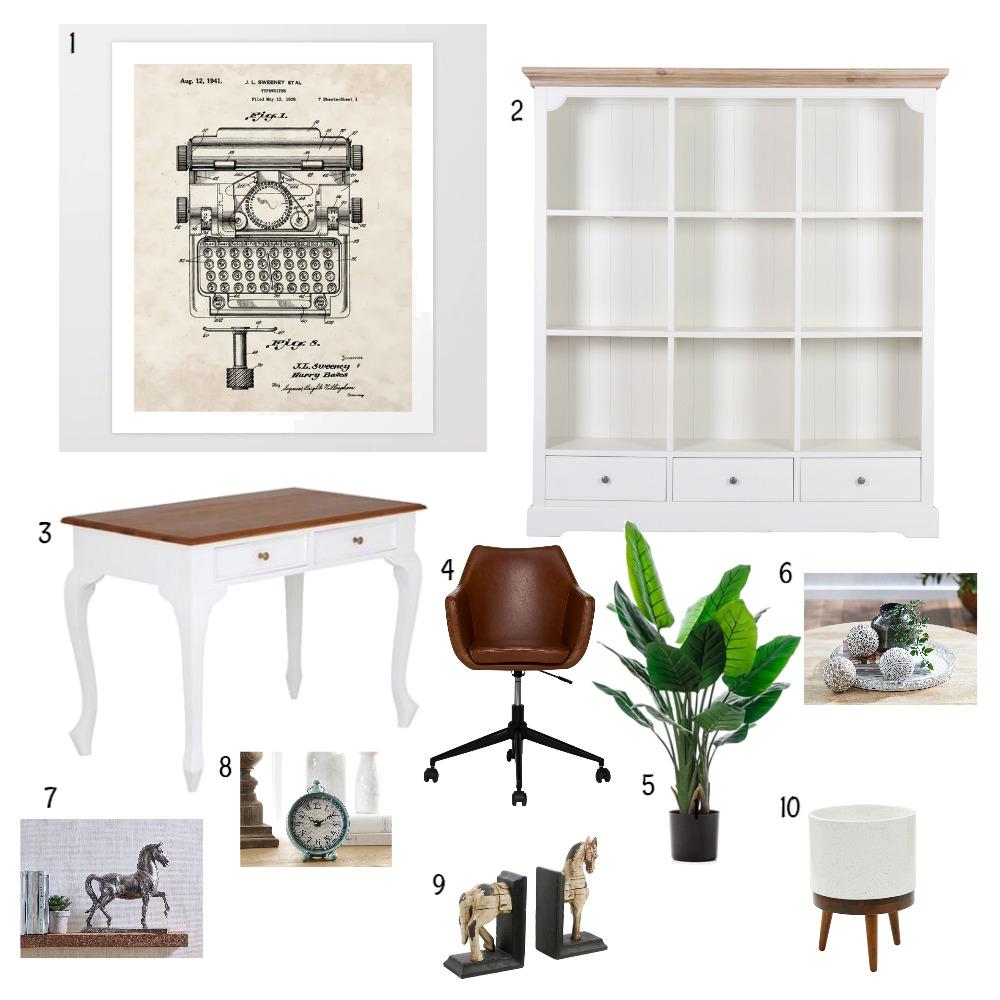 Study Interior Design Mood Board by Mariyarose on Style Sourcebook