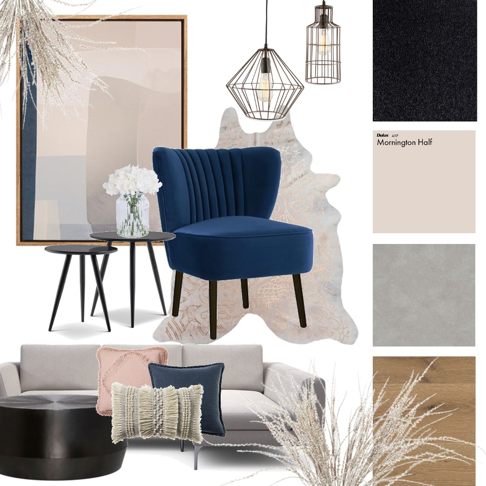 luxe living room Interior Design Mood Board by Flawless Interiors Melbourne on Style Sourcebook