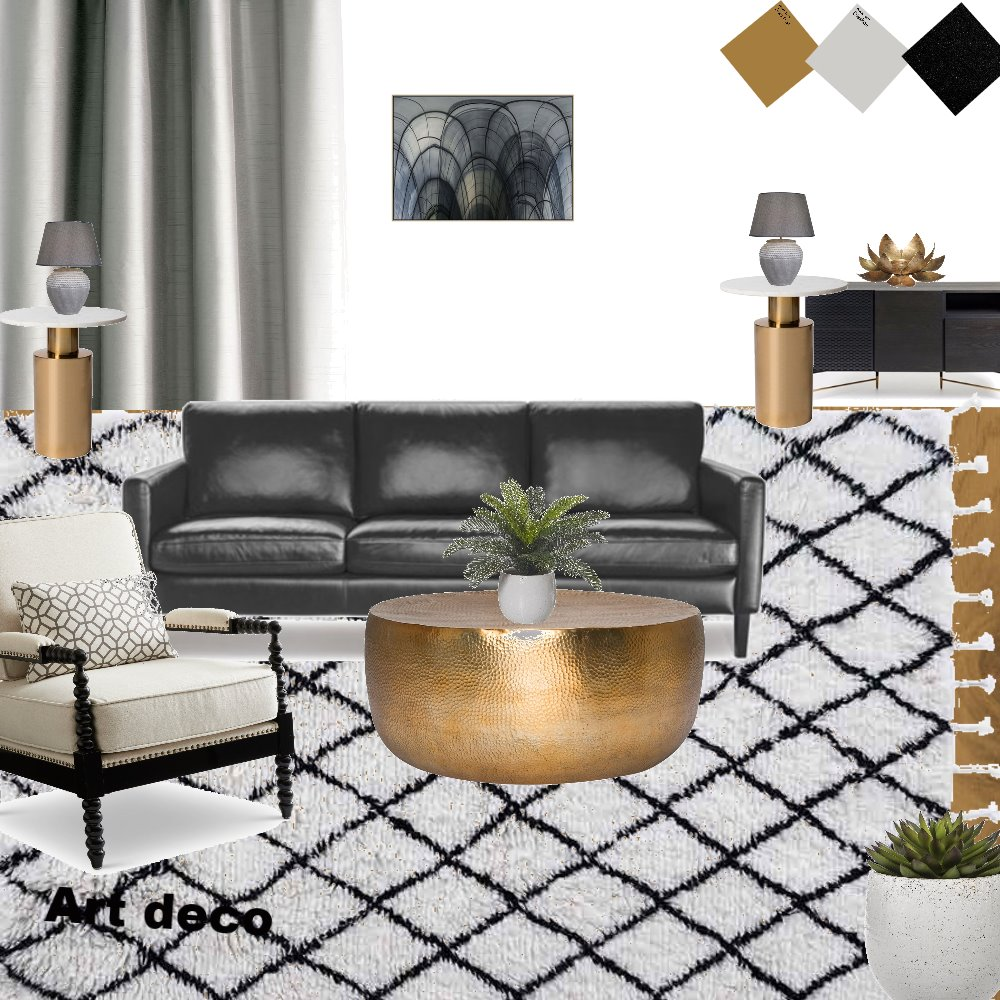 Art Deco3 Interior Design Mood Board by Chanda on Style Sourcebook