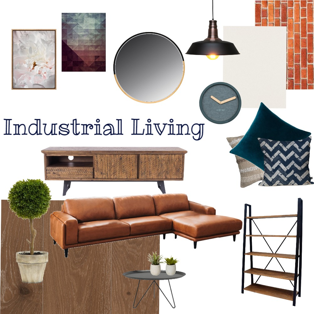 industrial living Interior Design Mood Board by DadaDesign on Style Sourcebook