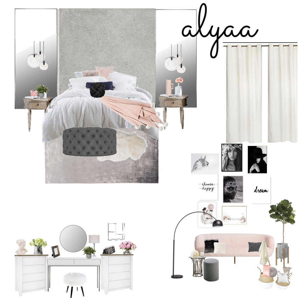 Bedroom 3 Interior Design Mood Board by Kaaam on Style Sourcebook