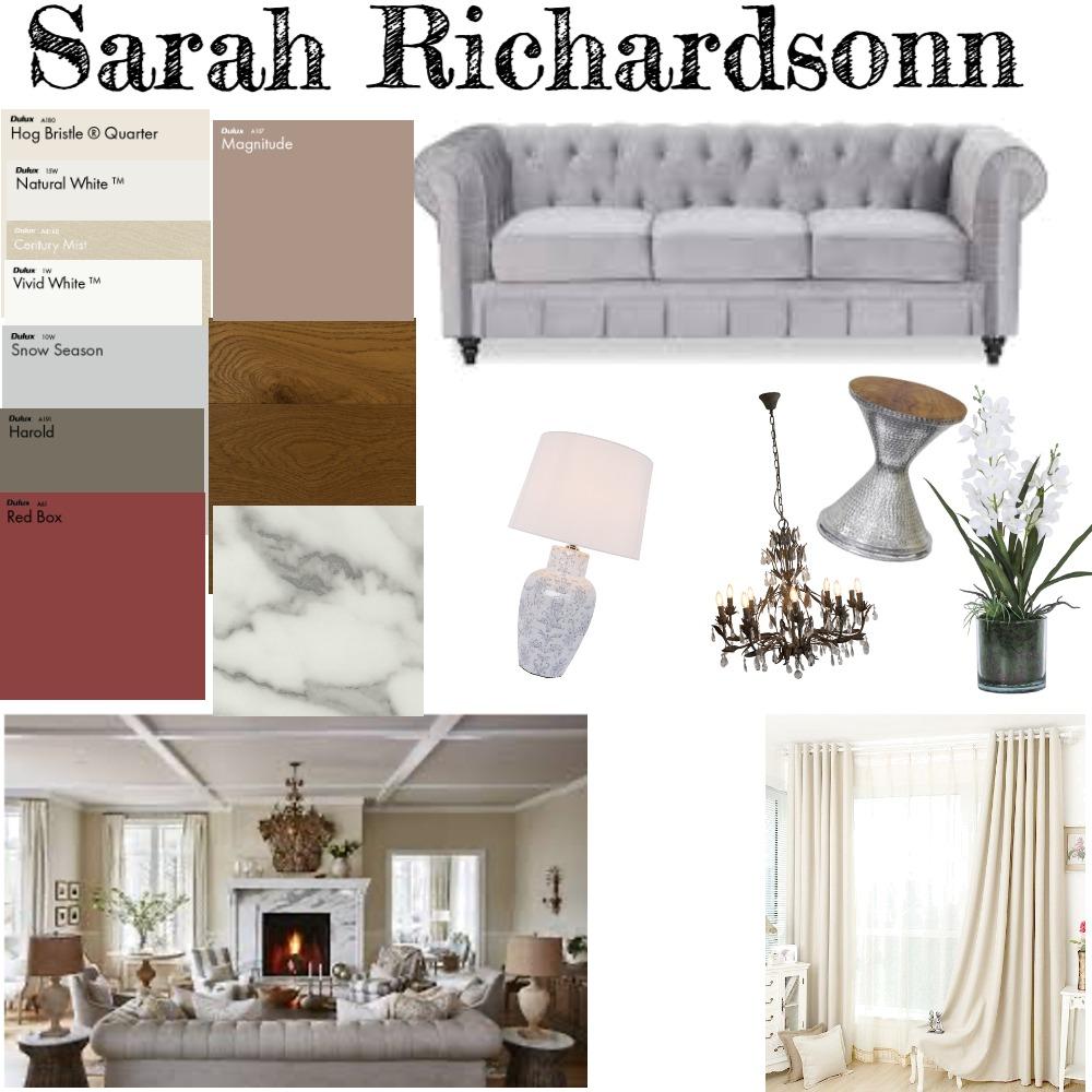 Sarah Richardson shabby chic Interior Design Mood Board by sunrisedawrn2020 on Style Sourcebook