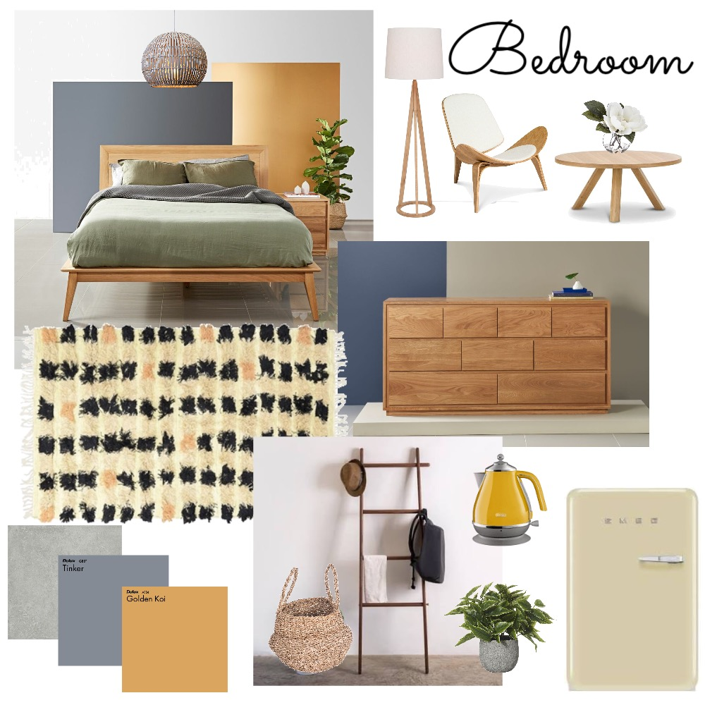 BedroomMod10 Interior Design Mood Board by BlueButterfly on Style Sourcebook