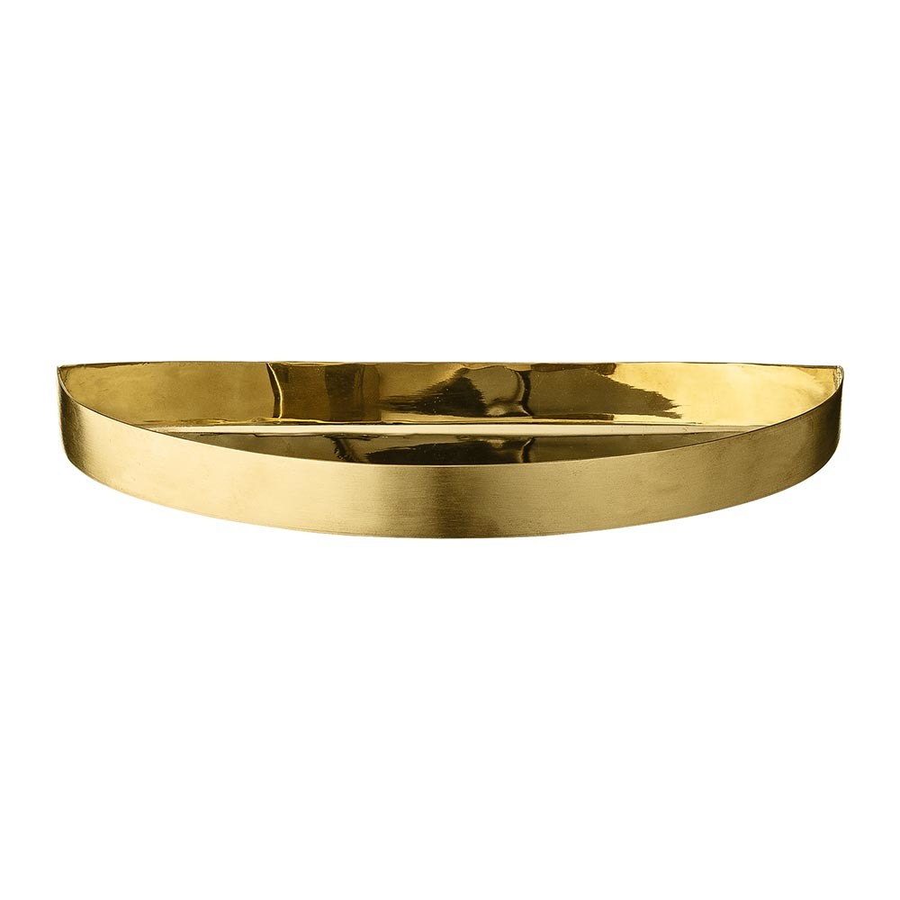 AYTM - Unity Small Half Circle Tray - Brass