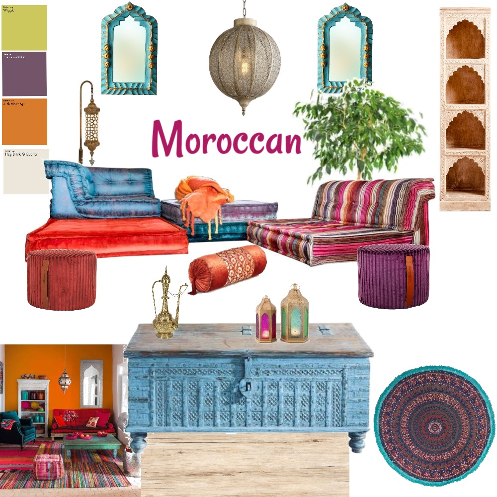 moroccan, finally!! Interior Design Mood Board by Imogen-D on Style Sourcebook