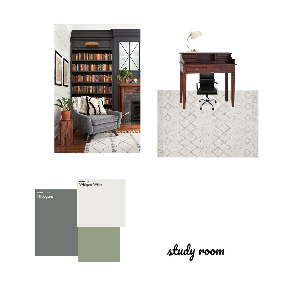 study room Interior Design Mood Board by Monicaqing on Style Sourcebook