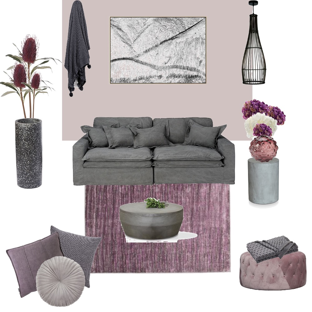 LAVENDER TRANQUILITY Interior Design Mood Board by YANNII on Style Sourcebook