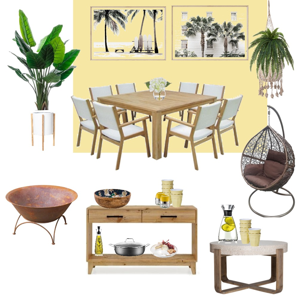 COUNTRY ESCAPE Interior Design Mood Board by YANNII on Style Sourcebook
