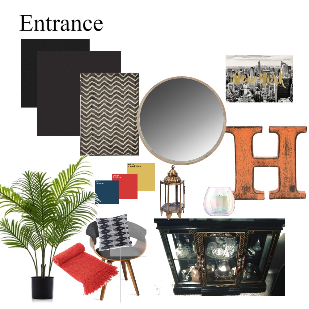 Entrance Interior Design Mood Board by leoniemh on Style Sourcebook