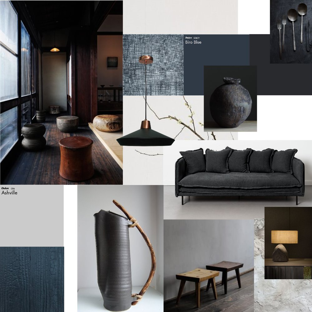 Wabi Sabi Interior Design Mood Board by IsabellaGoumal on Style Sourcebook
