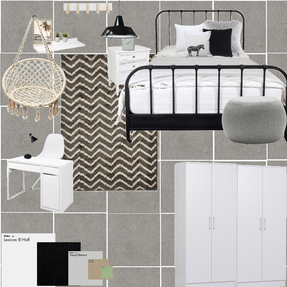 gal♥room Interior Design Mood Board by niligalili on Style Sourcebook