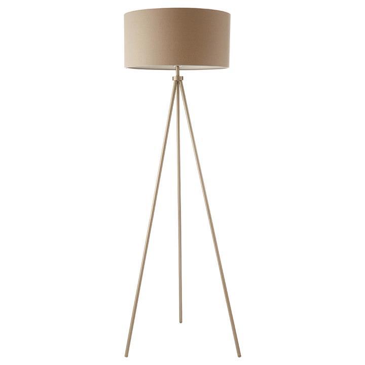 Clara Steel Tripod Floor Lamp by Casa Bella, a Floor Lamps for sale on Style Sourcebook