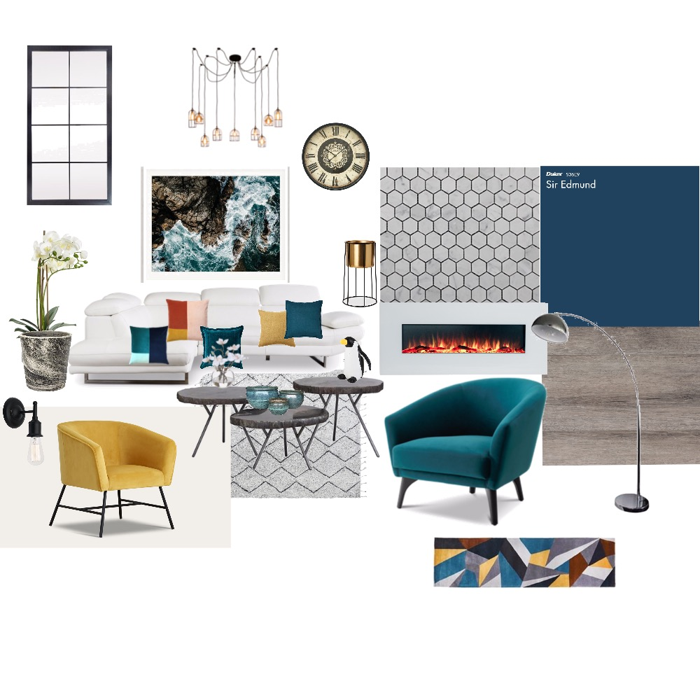 My first Interior Design Mood Board by Irina on Style Sourcebook