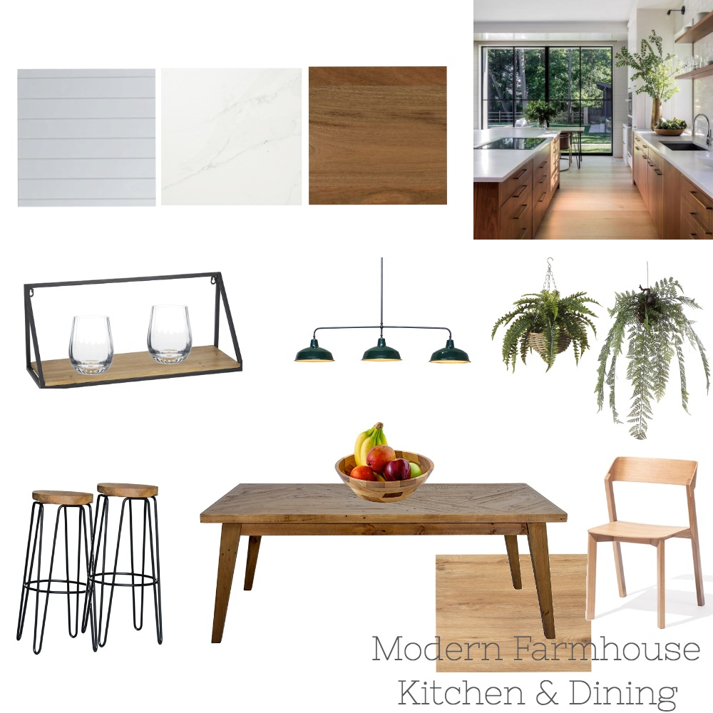Mordern Farmhouse Interior Design Mood Board by interior.kayo on Style Sourcebook