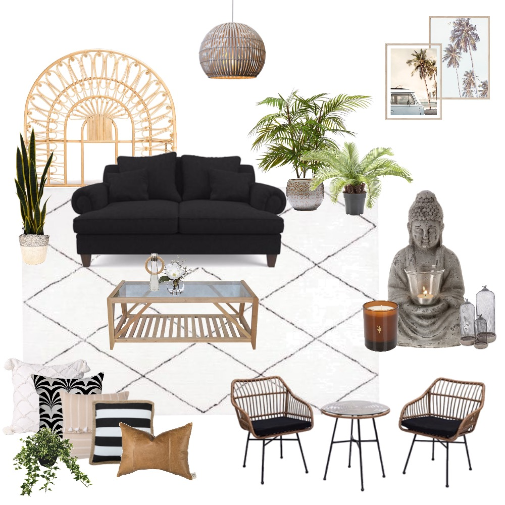 Zen Living by the Beach Interior Design Mood Board by itsslex on Style Sourcebook