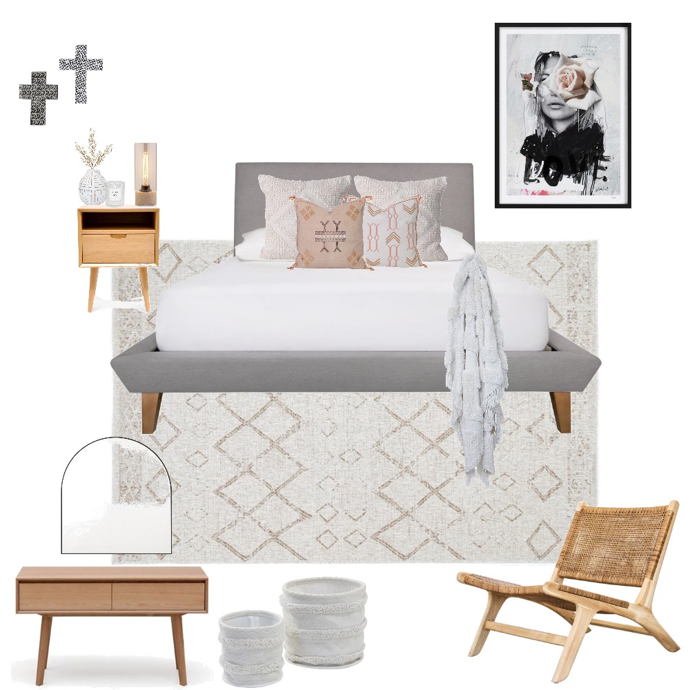 Main Bedroom Mood Board by KatieSansome on Style Sourcebook
