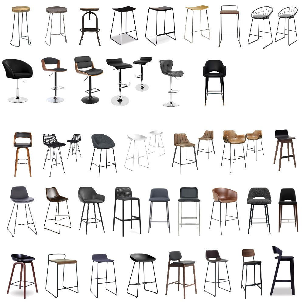 Bar Stools Interior Design Mood Board by Lorelei on Style Sourcebook